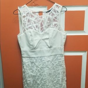 W118 by Walter Baker cream white dress